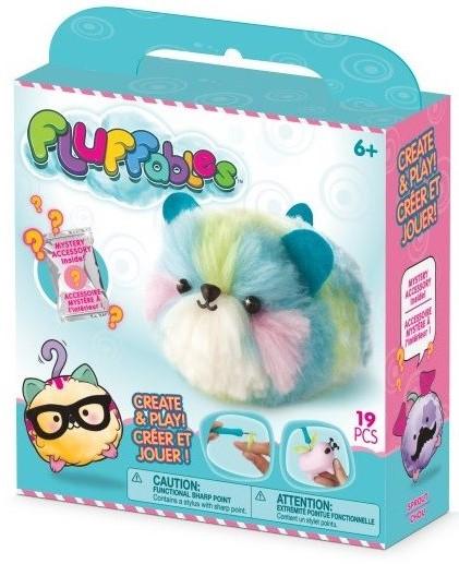 plišaste igračke v pastelnih barvah